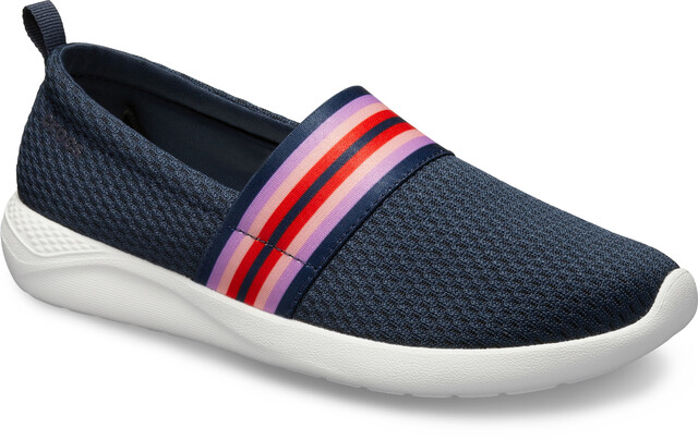 Crocs LiteRide Malla Slip On Mujer, navy colorblocknavy